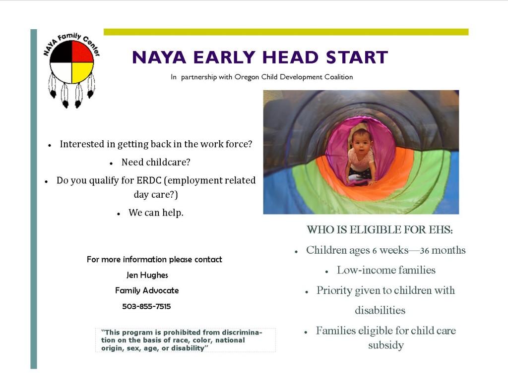 EHS flyer
