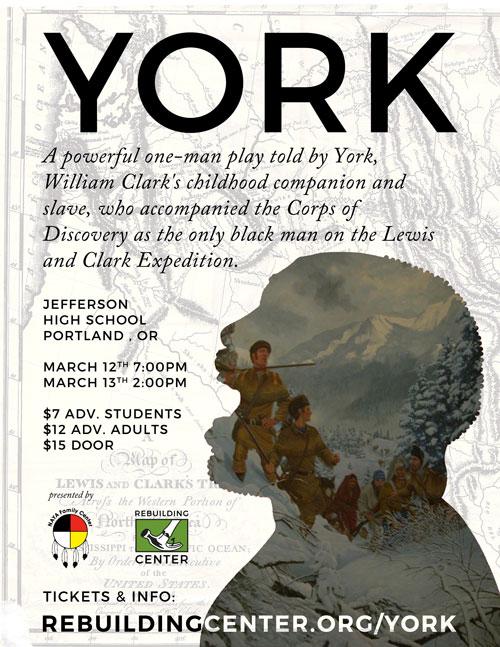 York flyer - March 12 & 13 in Portland